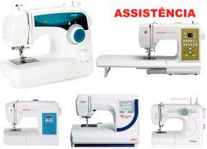 Assistencia tecnica em maquinas de costura e bordado